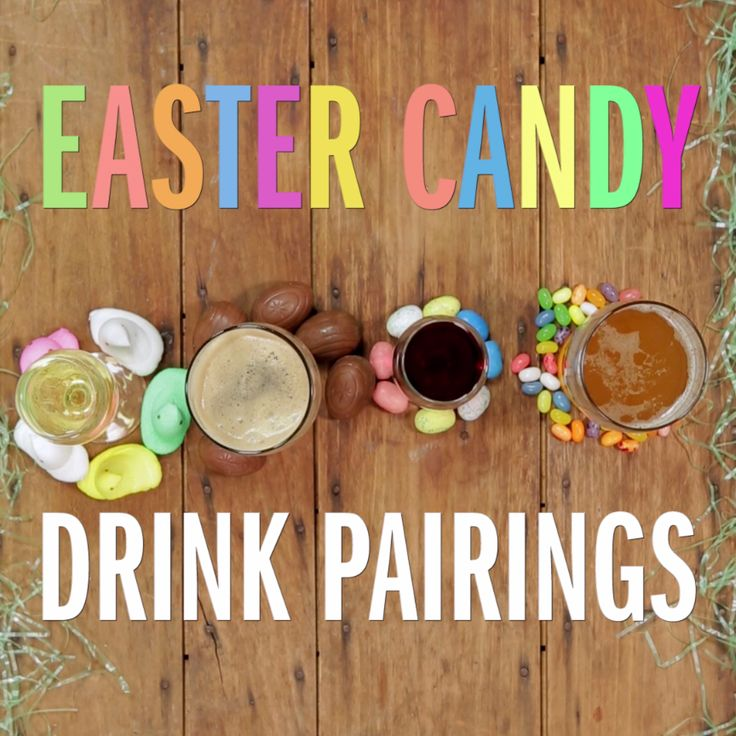 Turns out, Easter candy pairs quite nicely with a glass of wine or beer! Find ou...