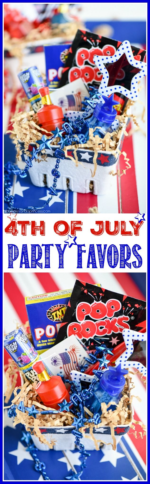 4th of July party favor baskets for kids – keep kids entertained while they wa...