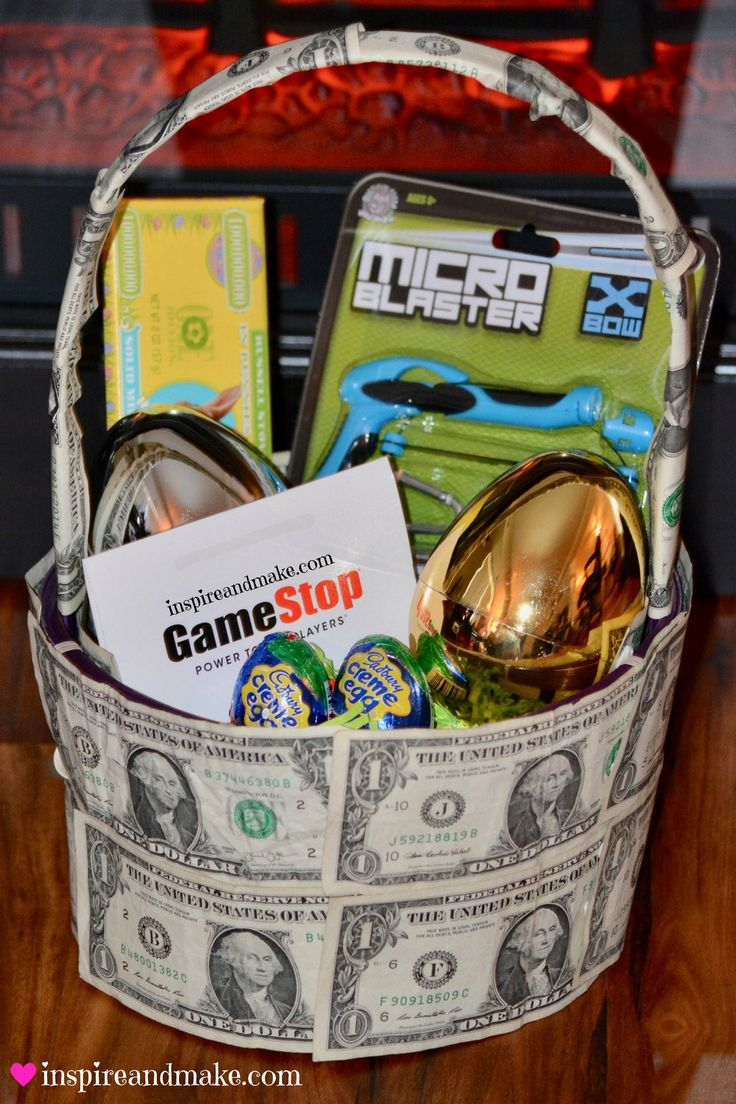 Are you looking for inventive way to create a money gift basket? This fun, creat...