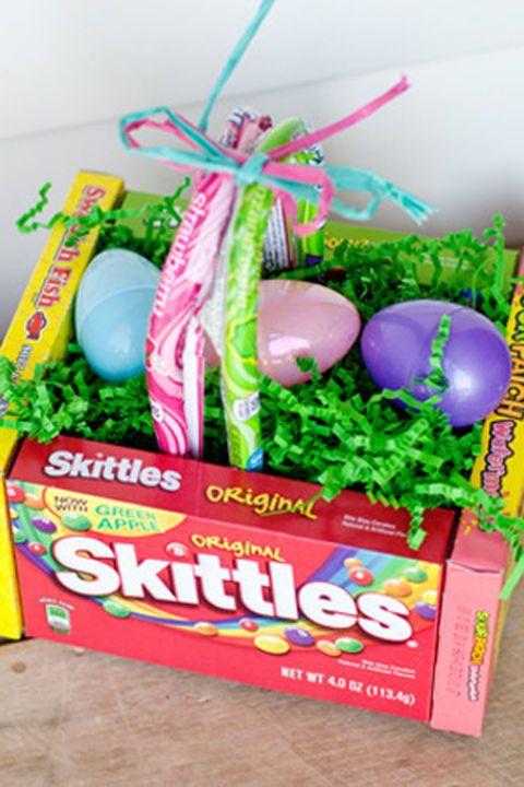 DIY Edible Easter Egg Basket: There's no need to buy an actual basket thanks...