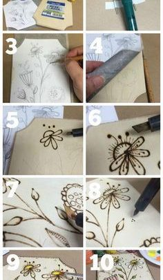 Basket Gifts Diy Wood Burning Art Giftsmaps Com