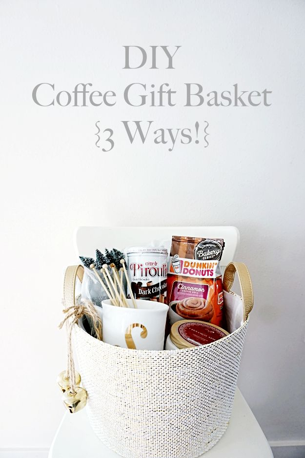 Gift Baskets are some of my favorite to throw together! They're fun, easy, &...