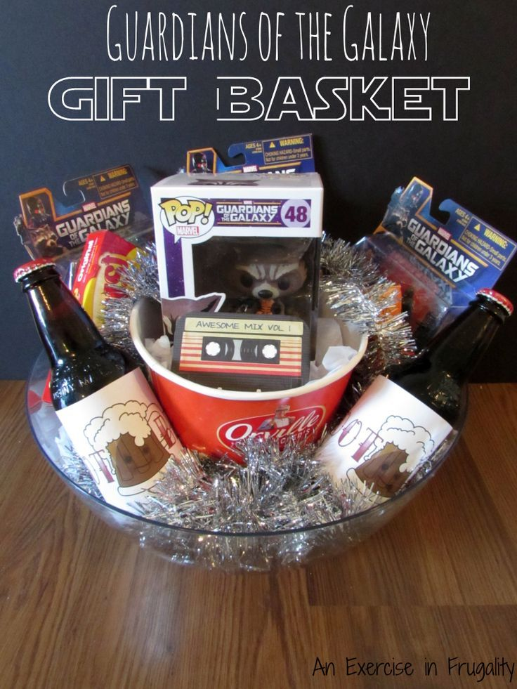 Guardians of the Galaxy Gift Basket perfect for any Marvel comic book fans, or f...