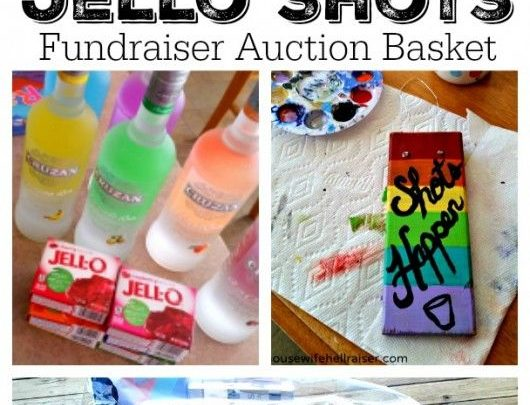 basket gifts jello shots fundraiser auction basket a rainbow of liquor bottles with matchin