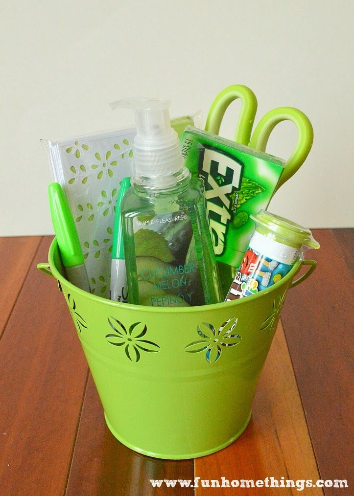 Basket Gifts St Patrick S Day Teacher Gift Giftsmaps