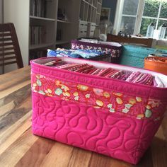 Sewing Instructions For Quick (And Less Quick) Fabric Baskets