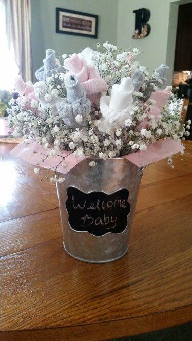 Baby sock bouquet                                                               ...