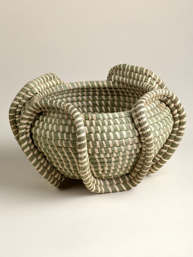 Basket weaving is one of the most difficult, time-consuming handicrafts. In Rwan...