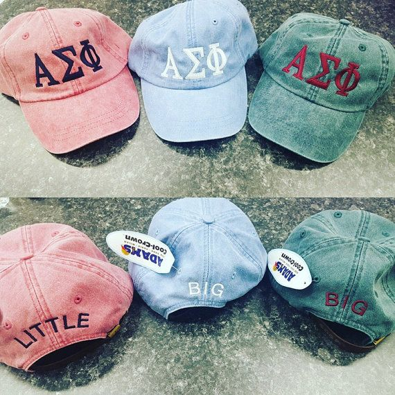 Basket Gifts Big Little Embroidered Family Baseball Hats