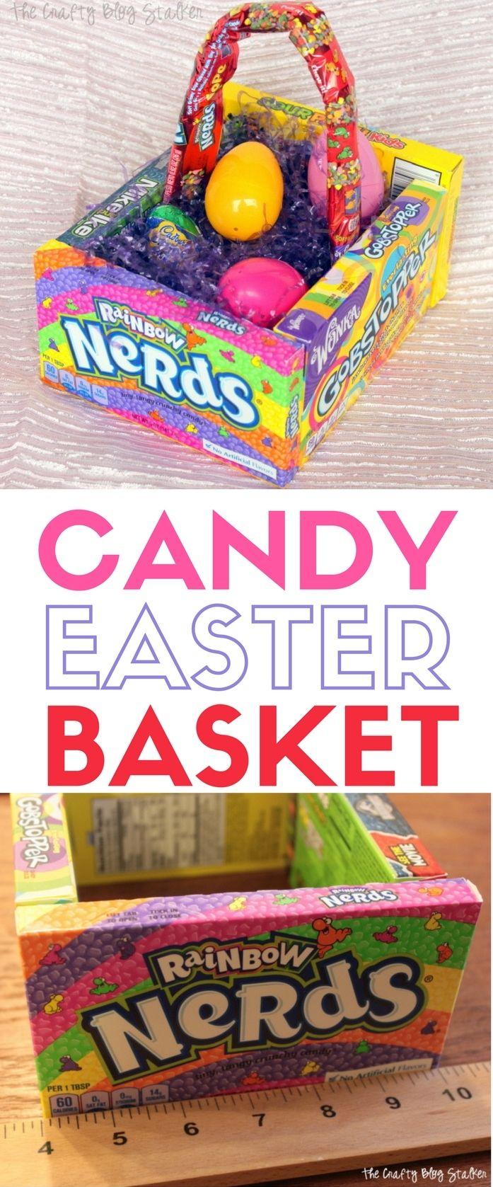 Candy Easter Basket | Candy Basket | DIY | Handmade Gift | Easter Decor | May Ba...
