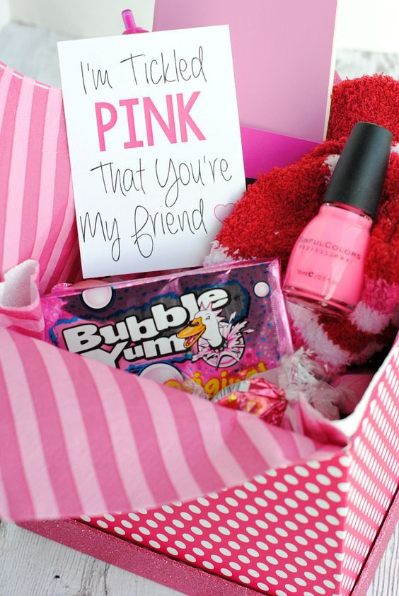 Cute Christmas Gift Ideas For Friends.Basket Gifts Cute Gift Idea For A Friend Or Birthday