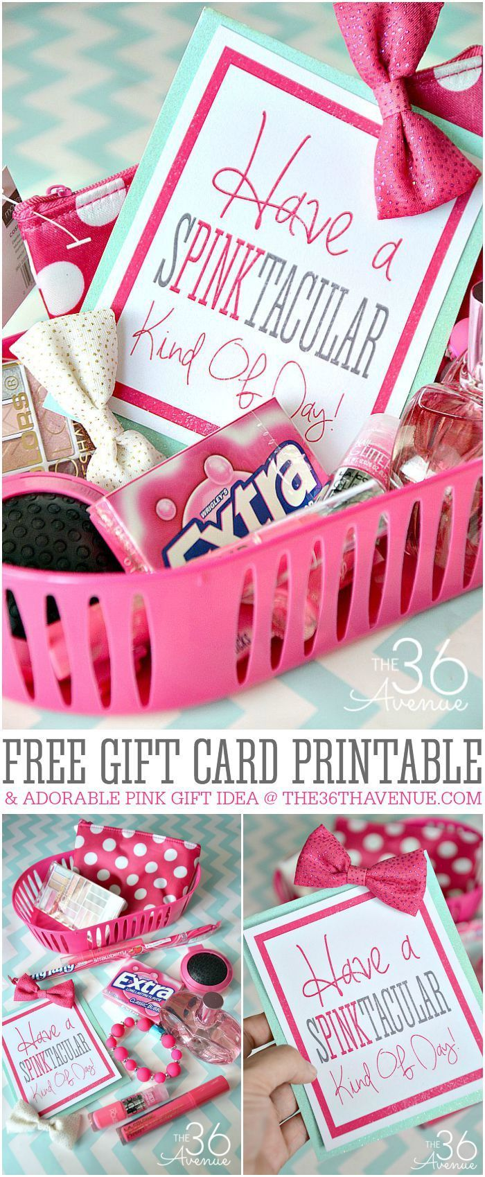 I love giving presents. If I needed a back up job I would totally put together f...