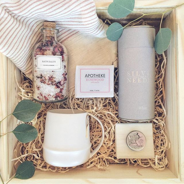 Basket Gifts Relax Box For Her Loved And Found Curated Gift Box