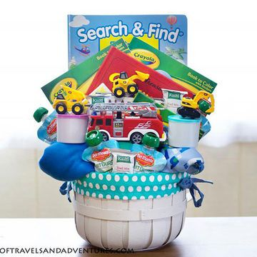 Transportation-Themed Easter Basket Does your toddler love cars, trucks, and any...