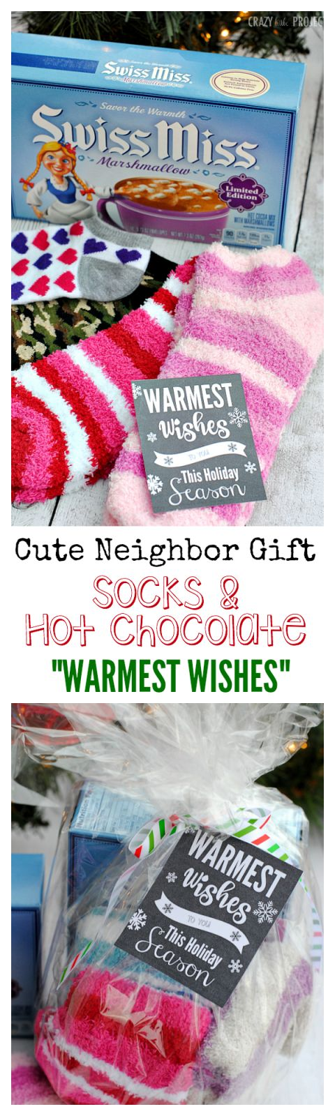 Warmest Wishes Neighbor Gift Idea