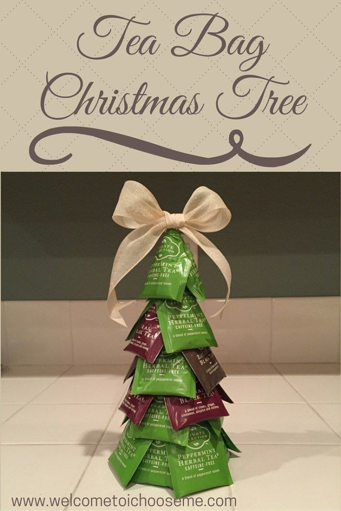 Tea Bag Christmas Tree