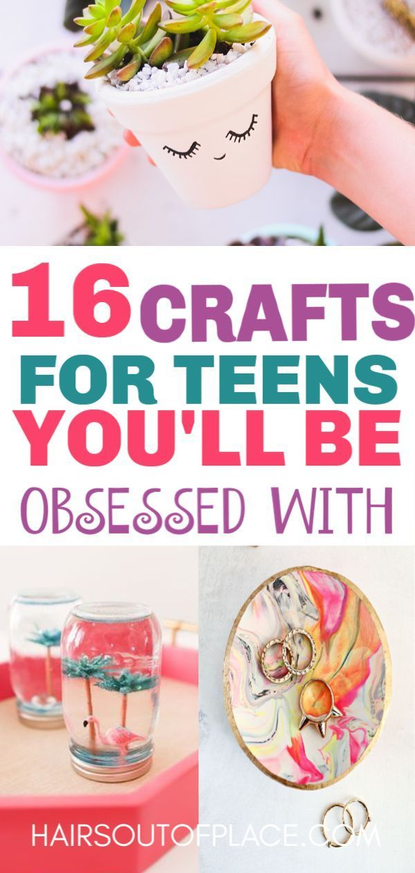 15 Fun Crafts for Teens that Will Bring Out Their Inner Artist