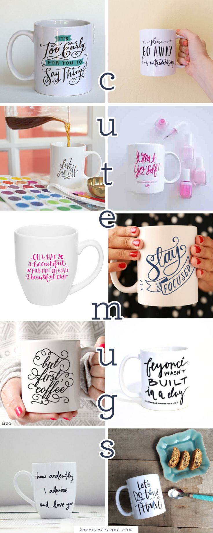Add to Cart: Cute Mugs