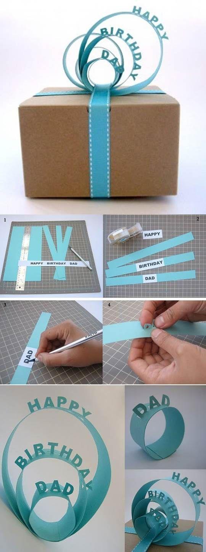 DIY Creative 3D Gift Packaging