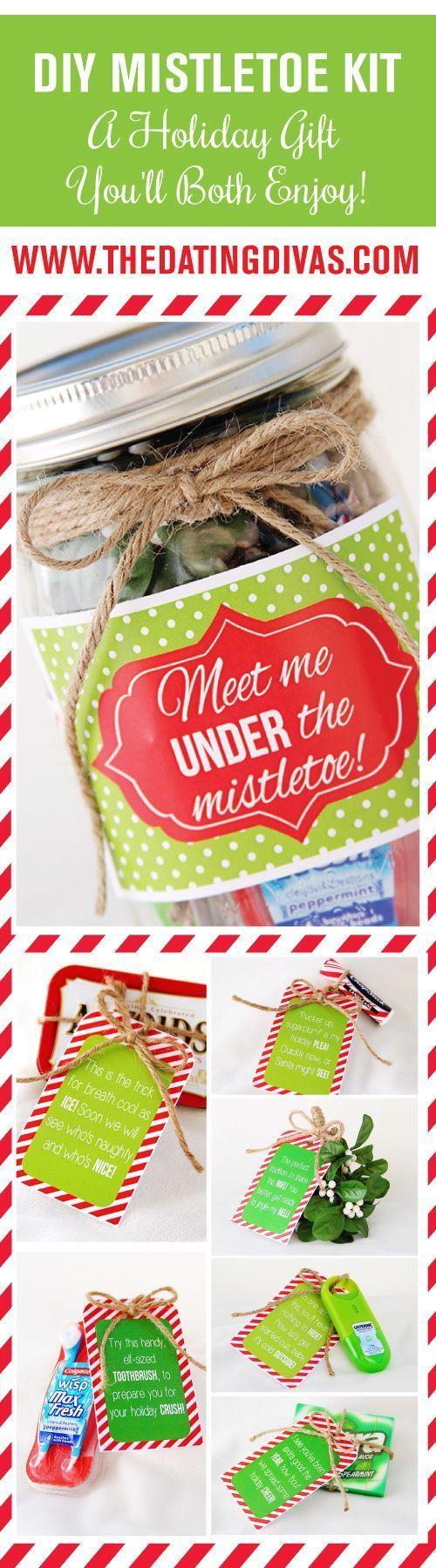 DIY Mistletoe Kit: A Holiday Gift You'll Both Enjoy!