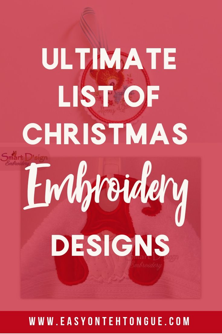 Greatest Christmas Embroidery Designs