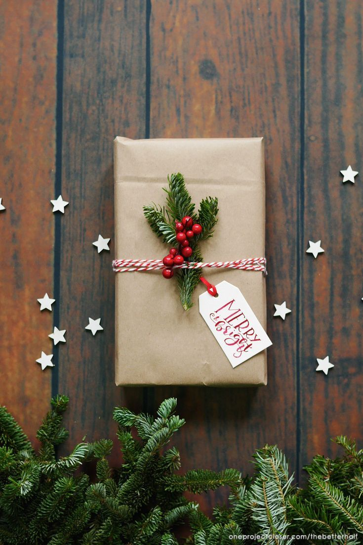 Scented Gift Tags with Printable + Handmade Holiday Gifts