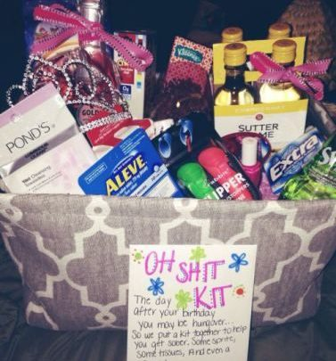 Basket Gifts 21st Birthday Or Any Age Gift 25 DIY