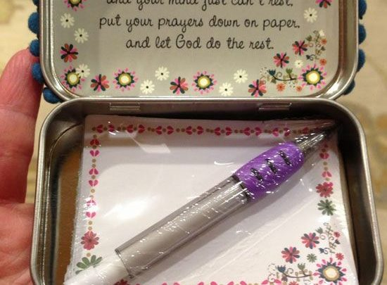 Christmas Gift Ideas For Kids Diy.Basket Gifts Diy Altoid Tin Prayer Boxes Click Pic For