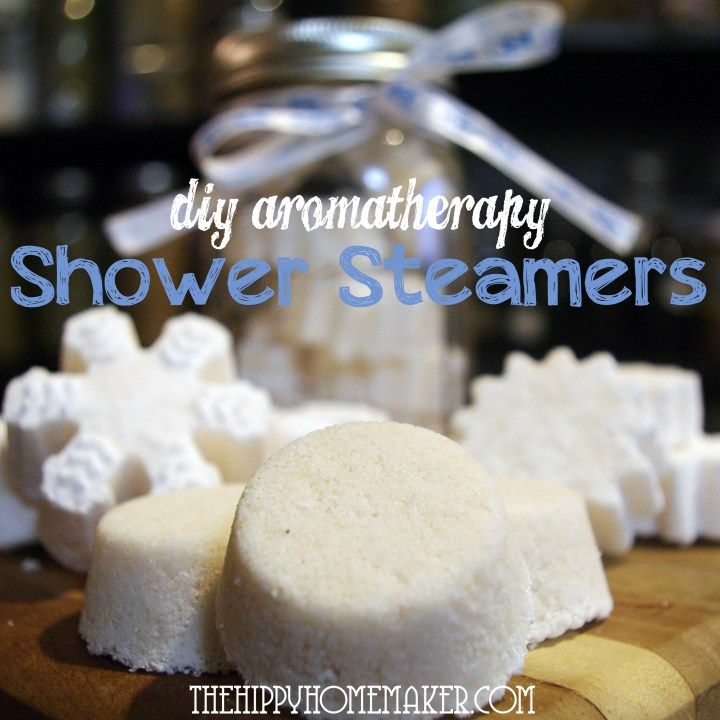 DIY Aromatherapy Shower Steamers - The Hippy Homemaker