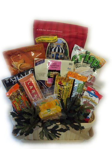 Healthy Hiker Gift Basket by Well Baskets