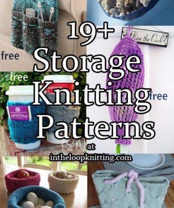 Basket Gifts : Storage Knitting