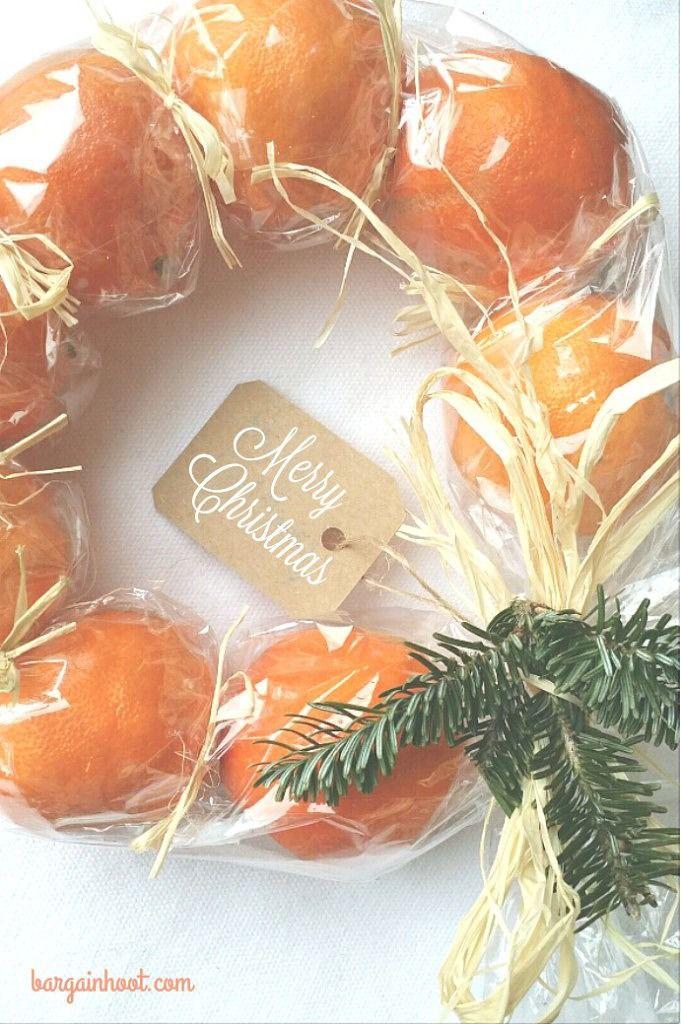 diy christmas fruit wreath