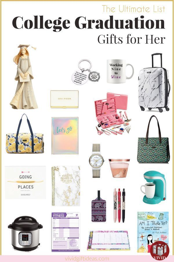 25 College Graduation Gift Ideas For Daughter in 2019