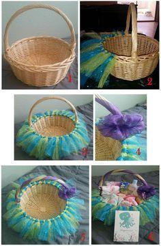 Basket Gifts Diy Baby Shower Gift Basket Ideas For Girls