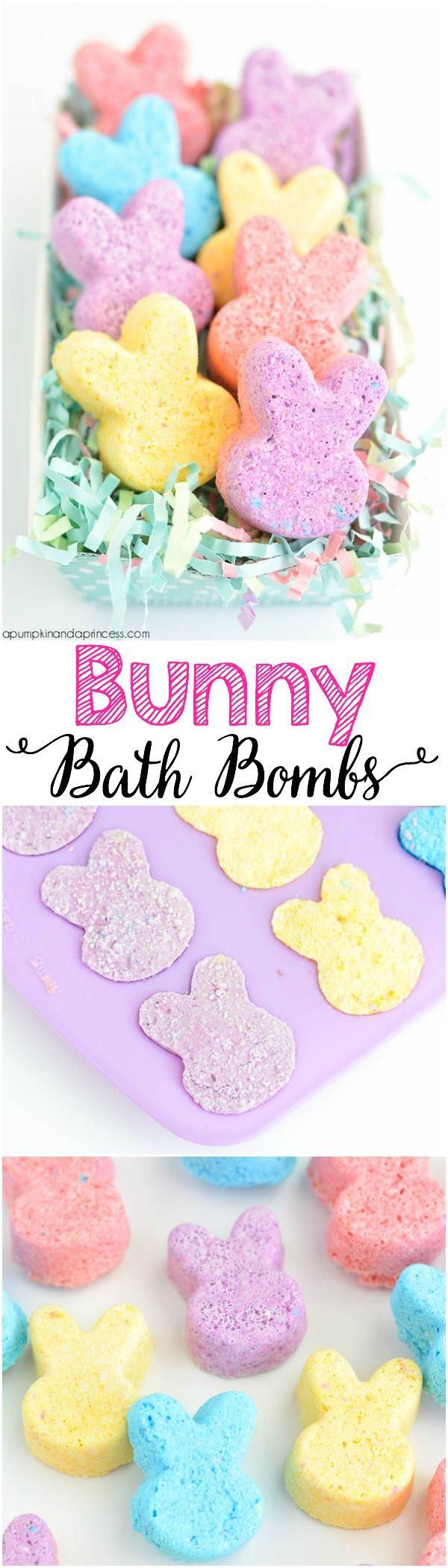 DIY Bunny Bath Bombs