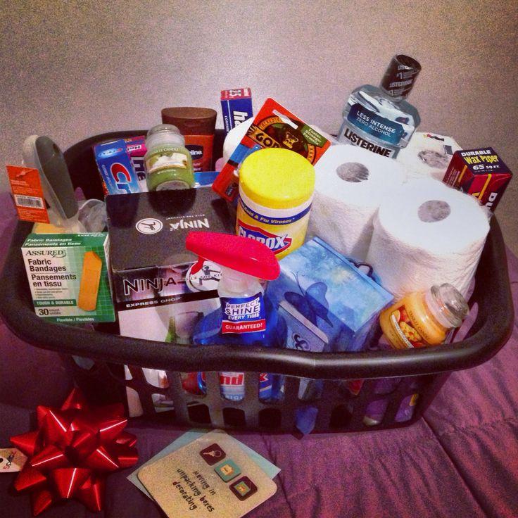 Gifts : DIY Housewarming gift basket