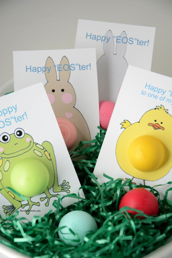 EOS Lip Balm Easter Gifts