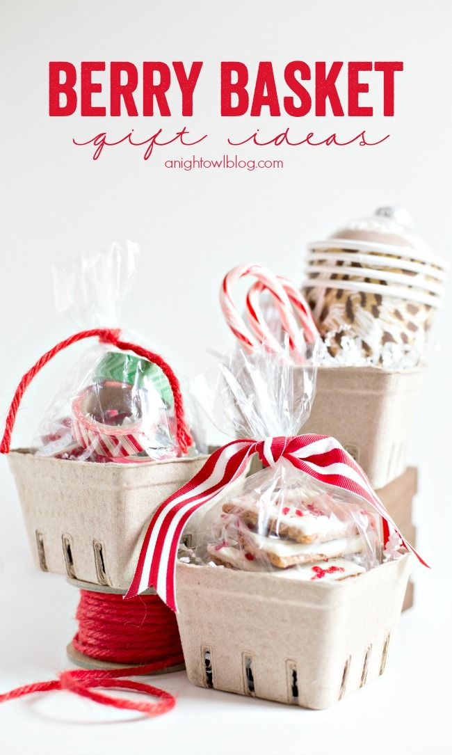 Easy Berry Basket Gift Ideas