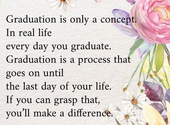 Best Graduation Gifts : 10 College Graduation Quotes that ...