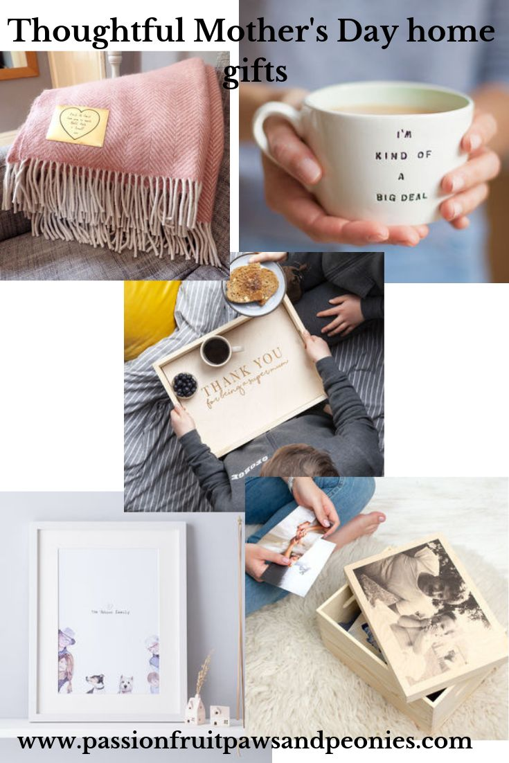 Thoughtful gifts for Mother's Day 2019 - home #GiftList #MothersDay #GiftIdeas #GiftForHer #PersonalisedGifts #GiftsForMums #StylishGifts #ThoughtfulGifts #ForTheHome