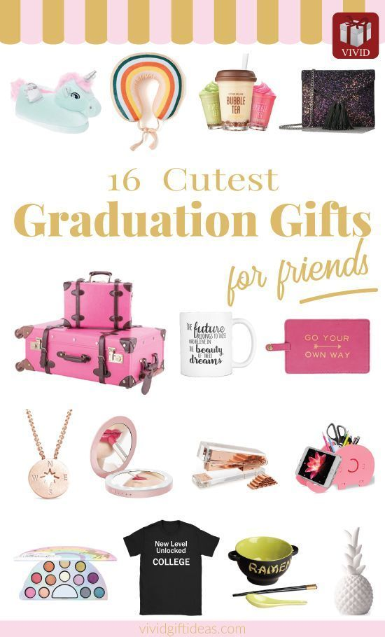 16 High School Graduation Gifts for Friends