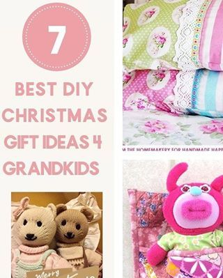 Best DIY Christmas Gift Ideas for Grandkids – Make now