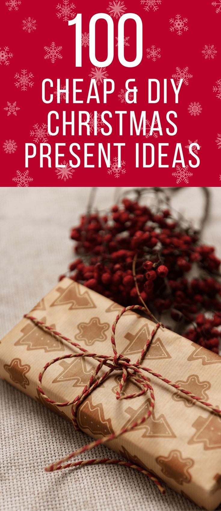 100 Cheap DIY Christmas Gift Ideas