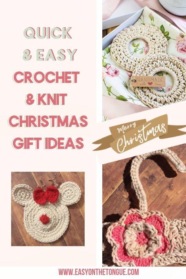 Crochet & Knitting Christmas Gift Ideas