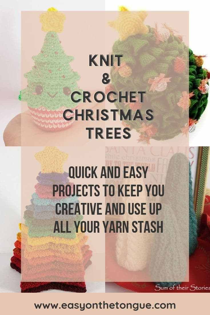 You'll want to Knit or Crochet one of the Best Christmas Trees