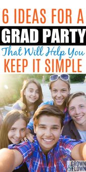 How To Keep Your Graduation Party Simple