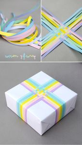 Woven gift-wrap // pastel edition ^_^