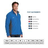 Port Authority® Men Colorblock Value Fleece Jacket