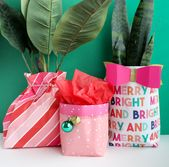How to Make a Gift Bag Out of Wrapping Paper - A Beautiful Mess
