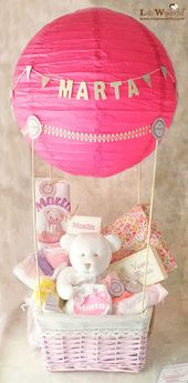 Regalo para bebés, un globo para comenzar su viaje
